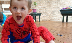 William Tyrrell was wearing a Spider-Man suit when he went missing in September 2014