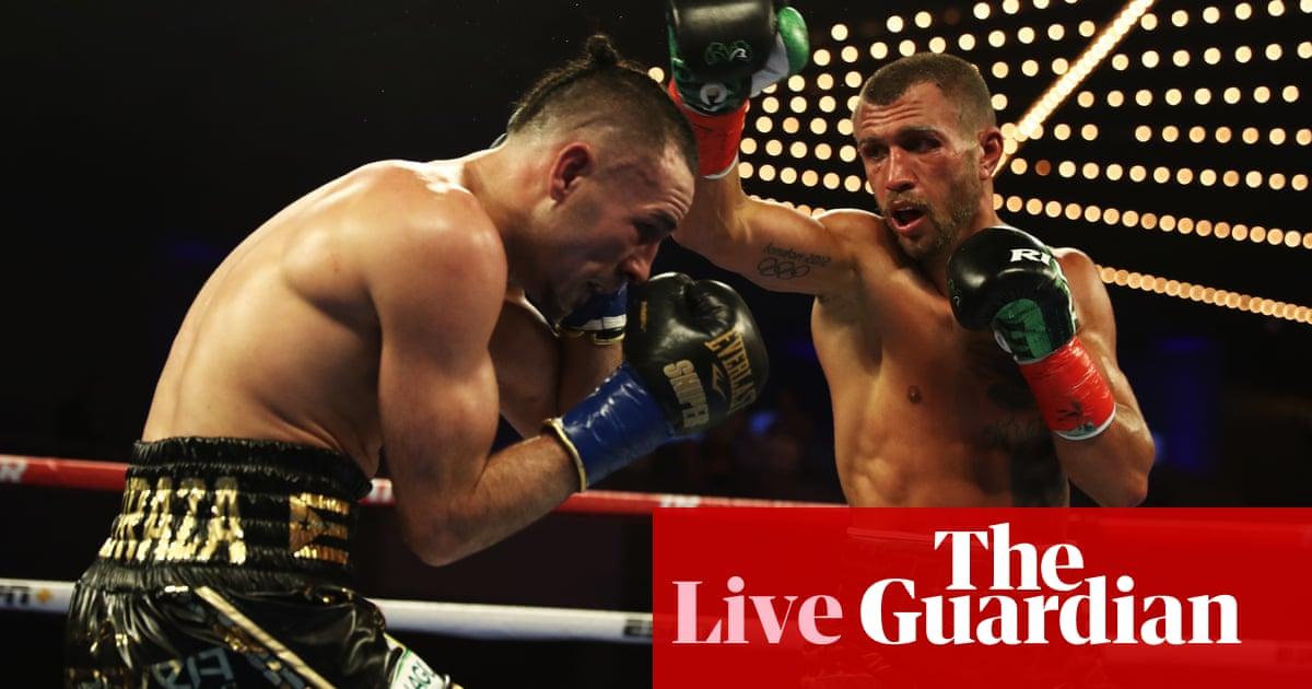 Vasiliy Lomachenko defeats José Pedraza to unify lightweight titles