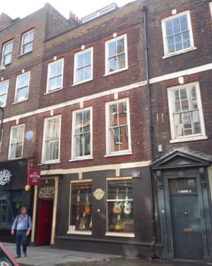 No 6 Denmark Street, which now houses a vintage guitar shop