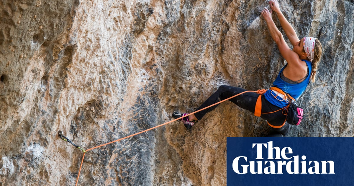 Sasha DiGiulian: Theres an assumption the male takes the lead in climbing