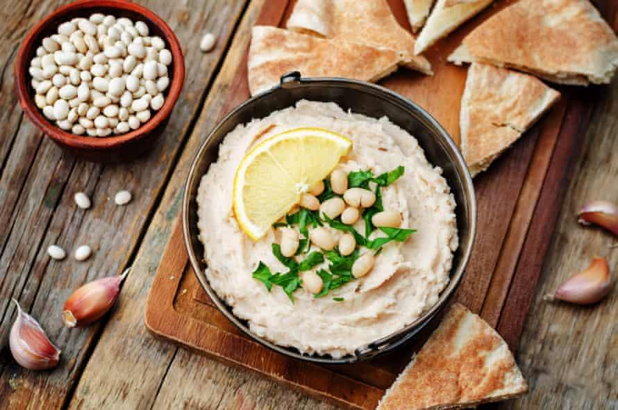 White bean version of hummus
