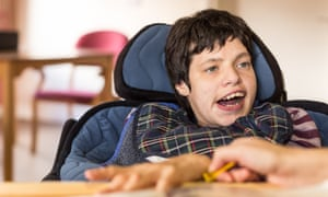 Erica Carlin, a woman with multiple learning difficulties, who doctors had written off.