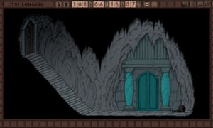 Screengrab from The Longing video game