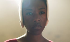 Some of the most frightening seconds ever committed to screen … Samira Wiley as Moira.