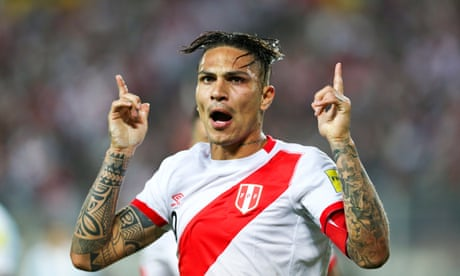 Peru's Paolo Guerrero to miss World Cup after testing positive for cocaine