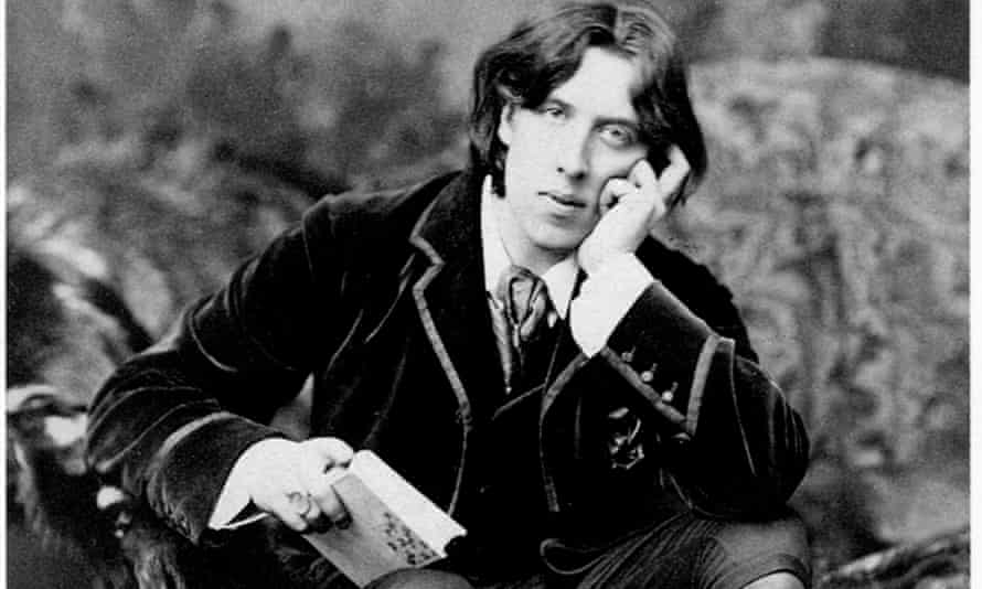'In danger of becoming respectable': a portrait of Oscar Wilde, circa 1882.