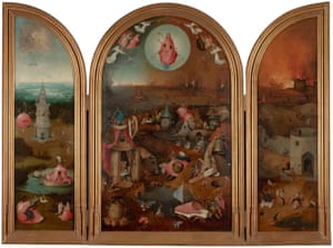 The Last Judgment by Hieronymus Bosch.