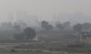 Smog envelopes the city of Delhi even before the extra smoke and pollution generated by Diwali fireworks.