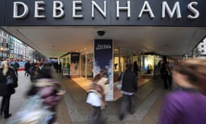 Debenhams Tops Governments Shame List For Underpaying Staff