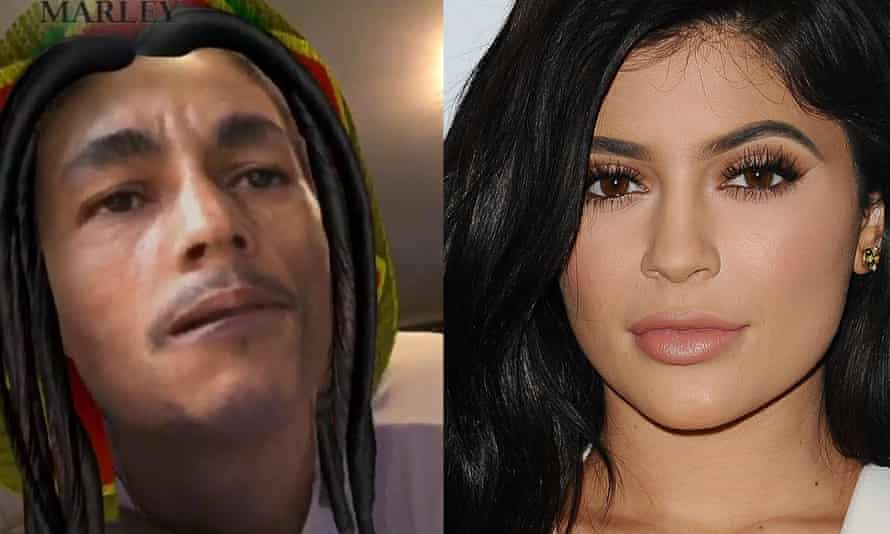 Keeping up with the Kardashians star Kylie Jenner on Snapchat, and in real life.