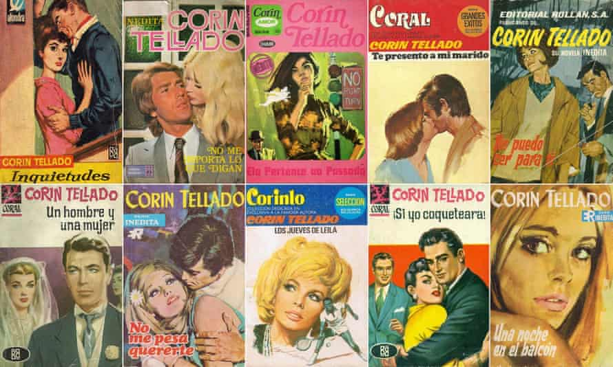 Corin Tellado's 4,000 novels have made her the most-read Spanish author alongside Cervantes.