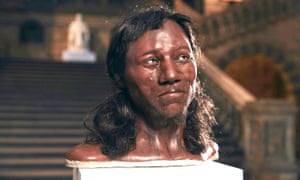 The face of Cheddar Man.