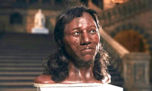 Alfons and Adrie Kennis's reconstruction of Cheddar Man.