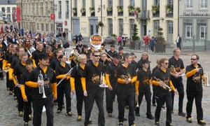 The brass band competition in Cassel