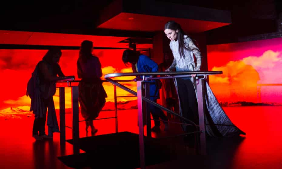 Kate Fleetwood as Medea at the Almeida theatre, London, 2015.