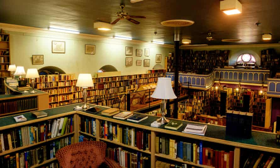 Leakey's Bookshop, Inverness, Scotland.