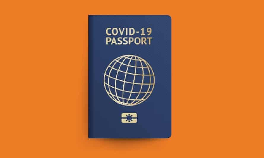 Graphic of Covid-19 passport