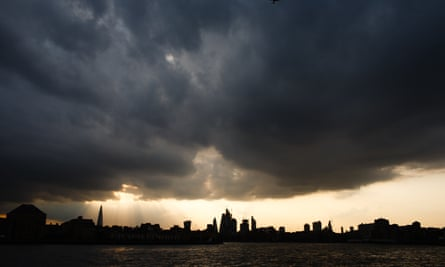 City of London from the Thames