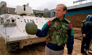 Joe Biden, then a senator, in 1993, the year Tara Reade says he sexually assaulted her.