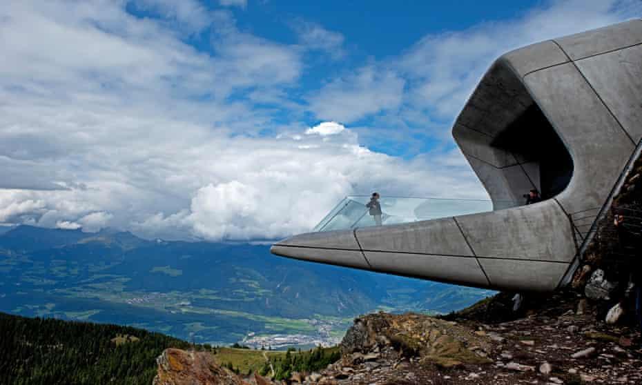 Messner Mountain Museum, Kronplatz, Italy.