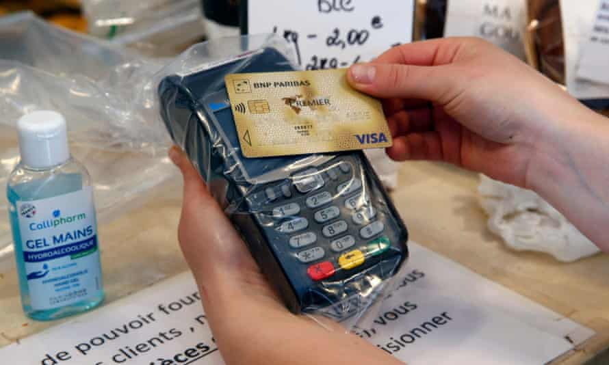 Contactless payments have caught on, after fears that cash could transmit the coronavirus.