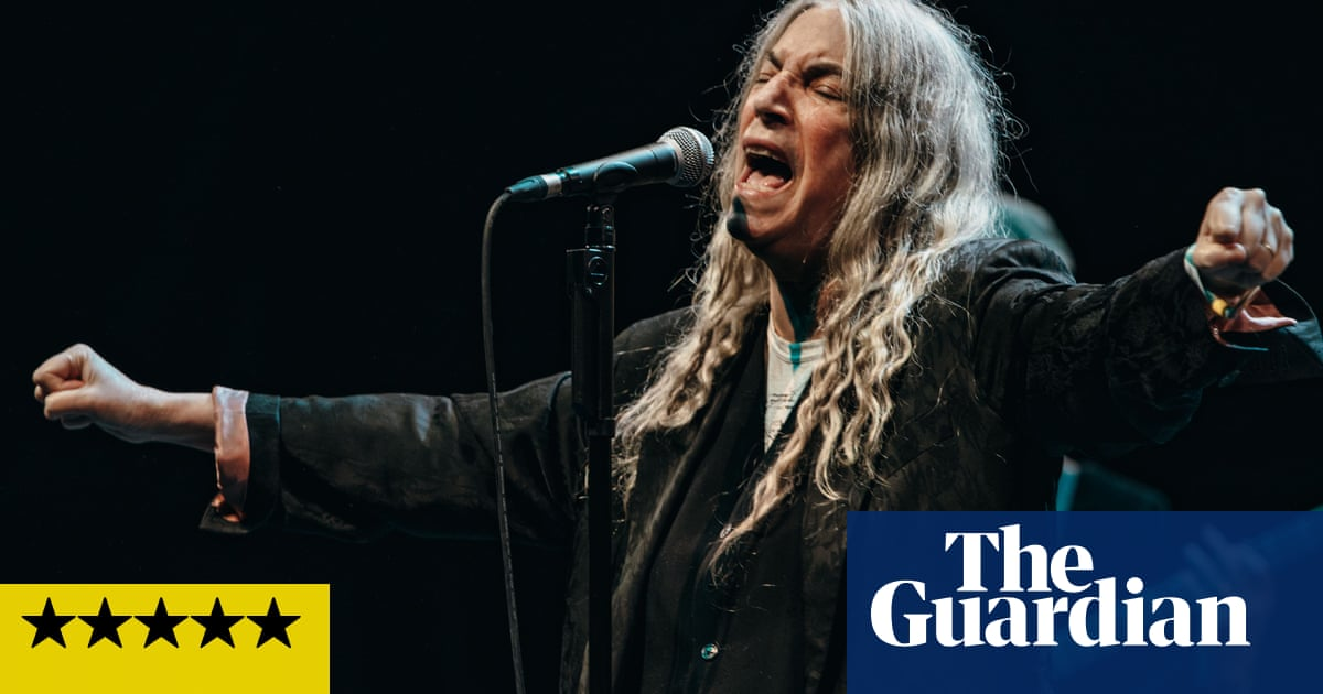 Patti Smith review – punk, poetry and the raw power of connection