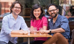 Dr Sandro Demaio, Dr Renee Lim and Dr Shalin Nai from ABC TV's series, Ask the Doctor.
