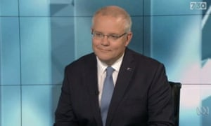 Scott Morrison appearing on ABC's 7.30 program said the Nationals' preference deal with One Nation was 'a matter for the National party.'