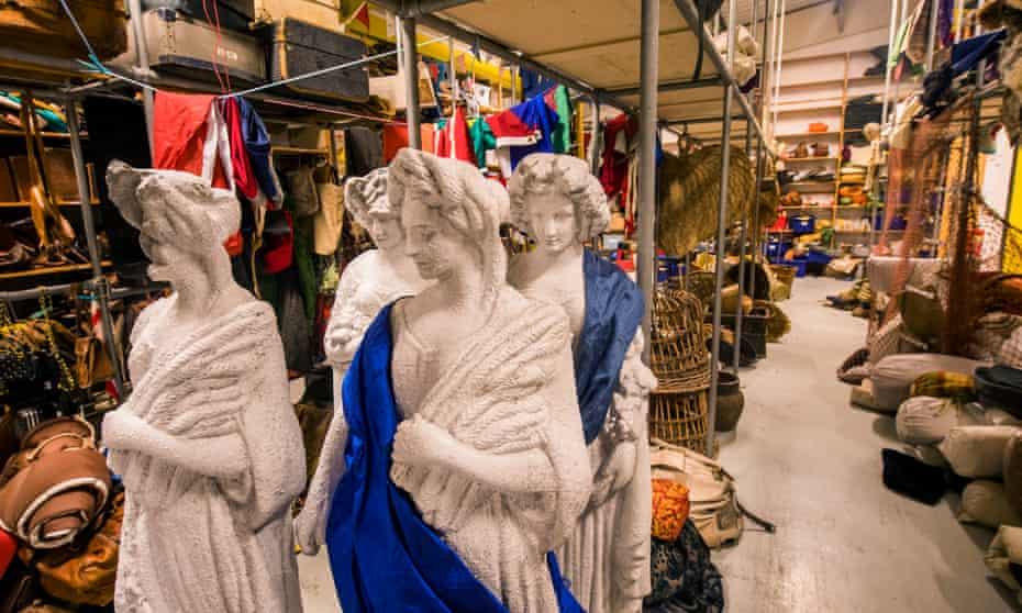 Did someone order a statue? … inside the store in Stratford-upon-Avon.