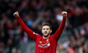 Adam Lallana has delivered on the few occasions he has featured for Liverpool this season.