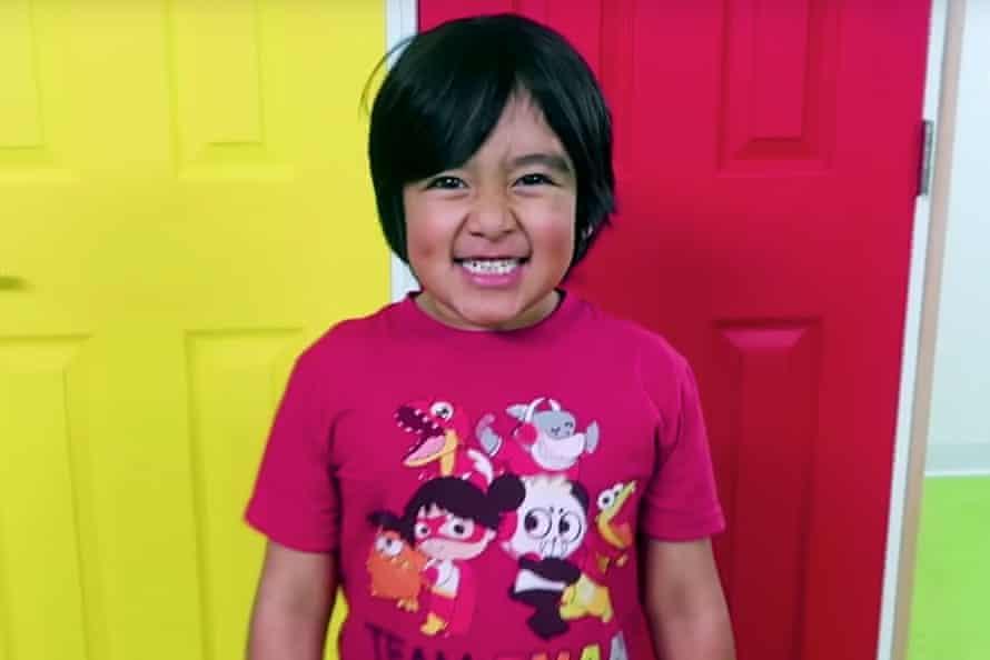 Ryan Kaji of YouTube's Ryan ToysReview