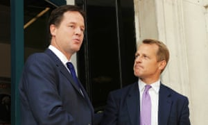 David Laws, right, pictured with then Lib Dem leader Nick Clegg in 2008.