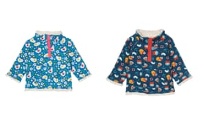 Soft, reversible fleeces from Frugi