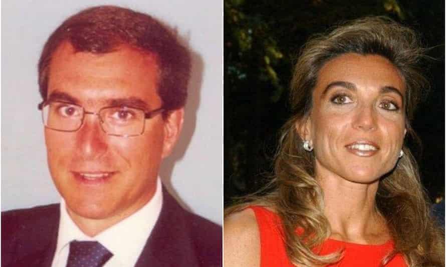 Giulio and Francesca Maria Occhionero