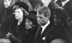 Robert Kennedy at his brother's funeral in 1963.