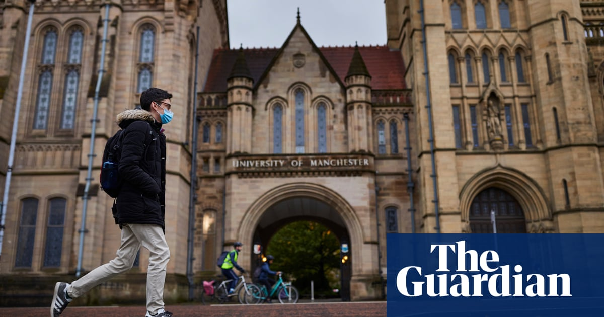 Manchester University sparks backlash with plan to keep lectures online