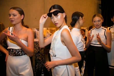 Don T Slip Don T Trip Inside Australian Fashion Week Australian Fashion Week The Guardian