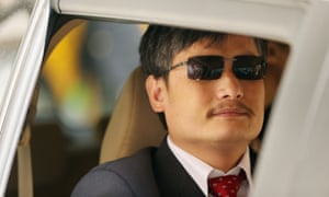 The human rights lawyer Chen Guangcheng was one of the Chinese government's high-profile targets.