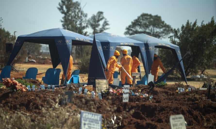 Olifantsveil cemetery, South Africa