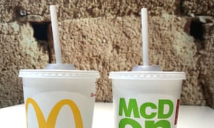 McDonald's is replacing plastic straws with recyclable paper versions in Britain.