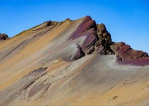 Rainbow Mountain, Vinicuna, Peru, by Leith Livingstone