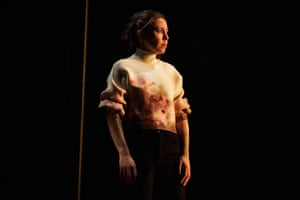 Tessa Parr as Hamlet at Leeds Playhouse in 2019. 'Hamlet is allowed to be fully female,' wrote Catherine Love. 'There is no suggestion that Tessa Parr is playing the part of a man, and nor does her performance suggest the kind of androgyny embraced by Maxine Peake in the same role'