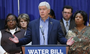For months, the Snyder's office had said the governor couldn't seek federal assistance until local officials declared a state of emergency.