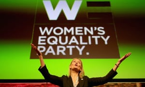 Sophie Walker, Women's Equality party