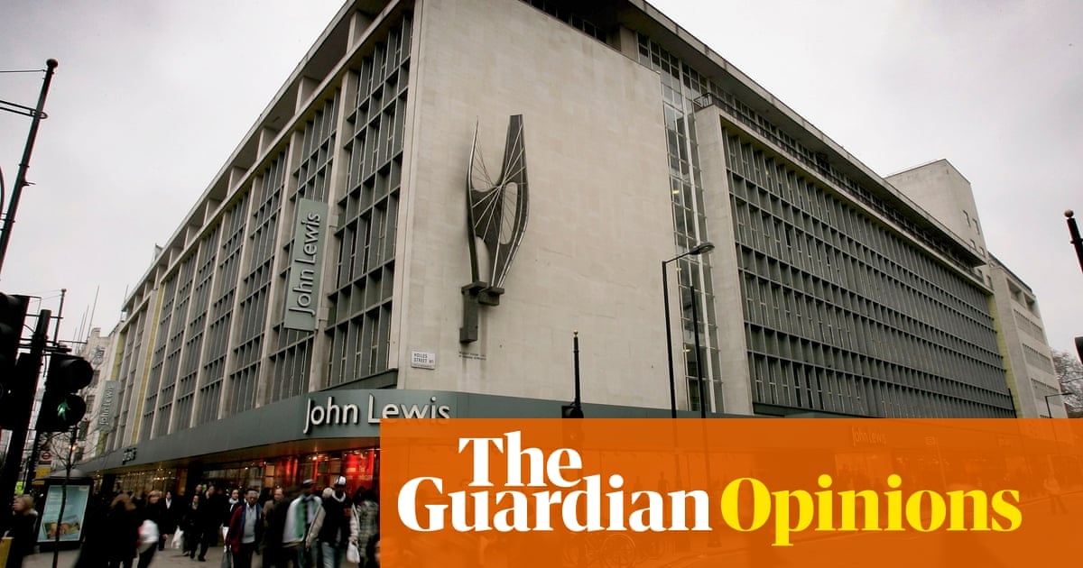 The disappearance of department stores like John Lewis will leave us all poorer