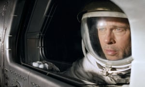 Brad Pitt in James Gray's epic Ad Astra.
