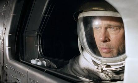 Brad Pitt in James Gray's epic Ad Astra.