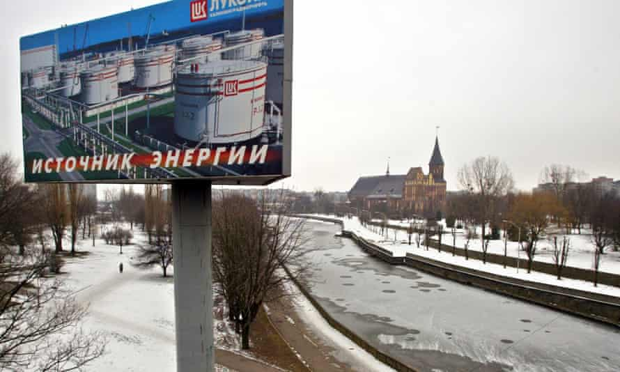 Kaliningrad, capital of the Russian outpost of the same name