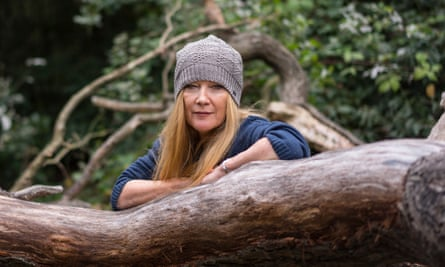 Andrea Arnold photographed in Oxleas Woods in London