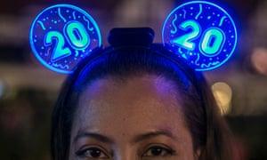 New Year eve celebrations in Kuala Lumpur, Malaysia.